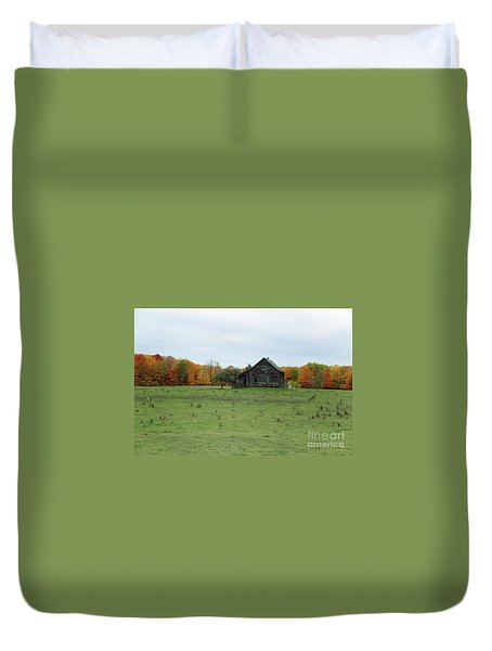 Old Homestead Duvet Cover by David Murray