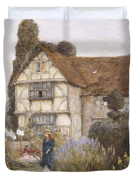 Old Manor House Duvet Cover