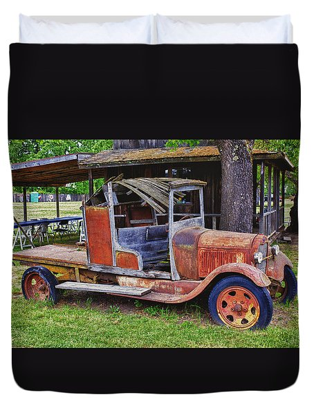 Old Timer Duvet Cover by Garry Gay