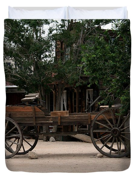 Old Wagon3 Duvet Cover