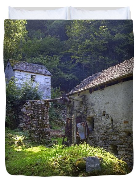 Old Watermill Duvet Cover by Joana Kruse