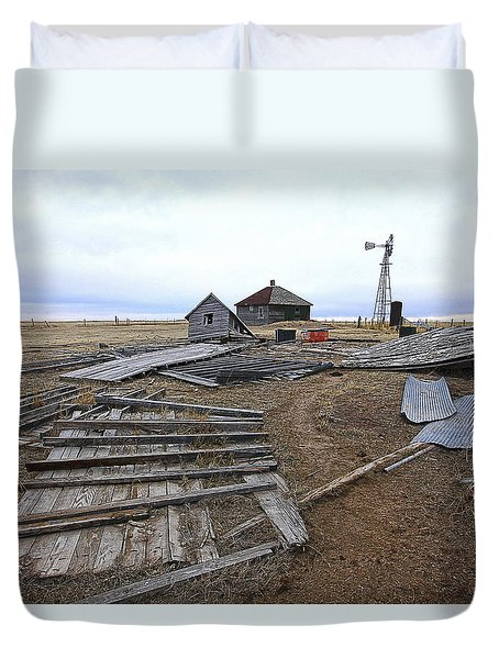 Once There Was A Farm Duvet Cover