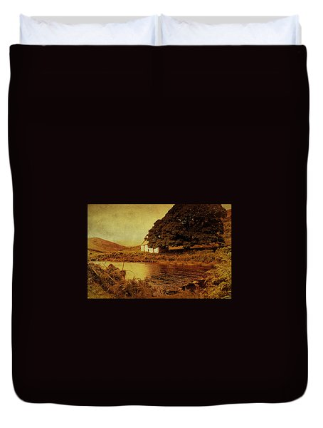 Once Upon A Time. Somewhere In Wicklow Mountains. Ireland Duvet Cover by Jenny Rainbow
