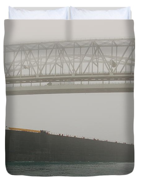 Only A Stones Throw Away Duvet Cover