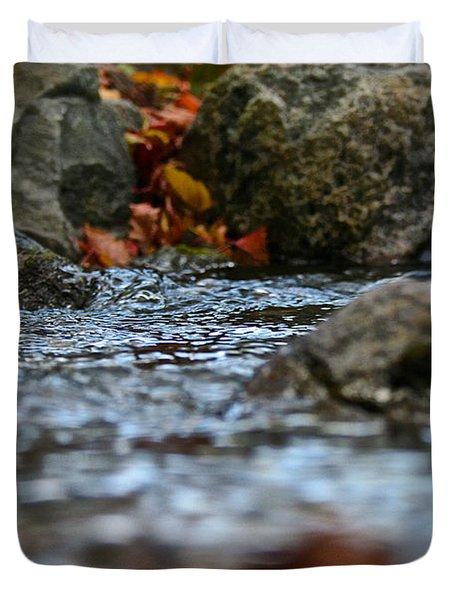Opposite Shore Duvet Cover by Susan Herber