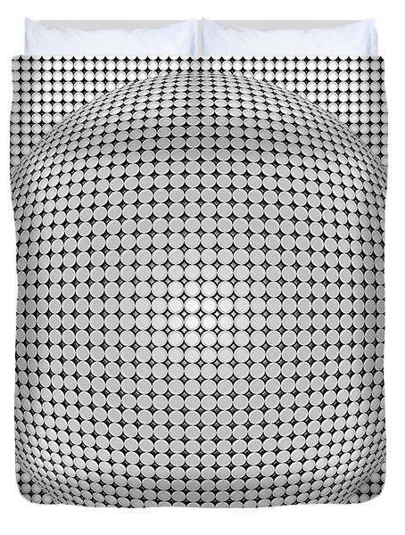 Optical Illusion Plastic Ball Duvet Cover