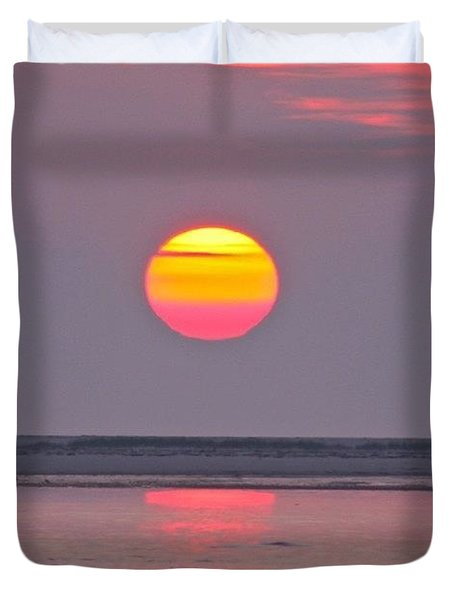 Orange Glow   Duvet Cover