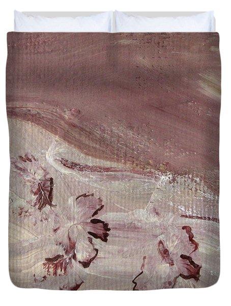 Orchid River Duvet Cover