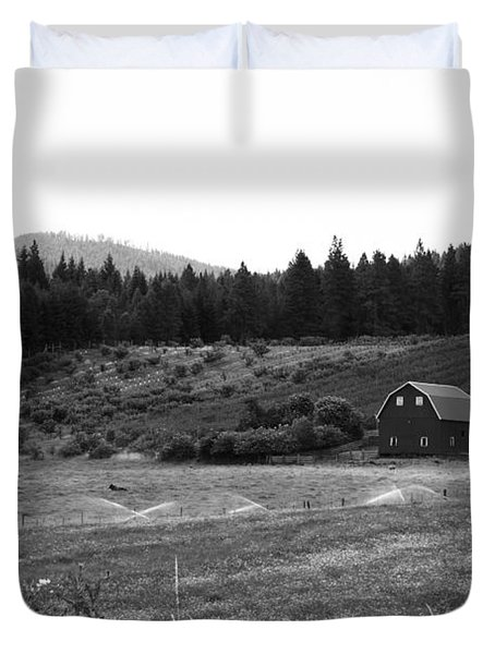 Oregon Farm Duvet Cover