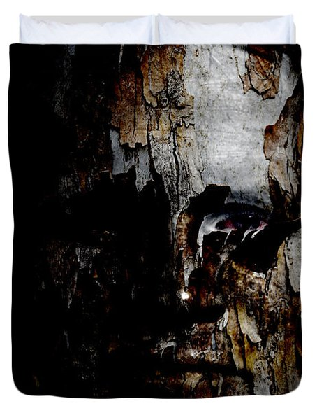 Organic Metamorphosis Duvet Cover by Christopher Gaston