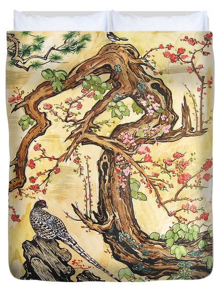Oriental Landscape2 Duvet Cover by Michail Noskov