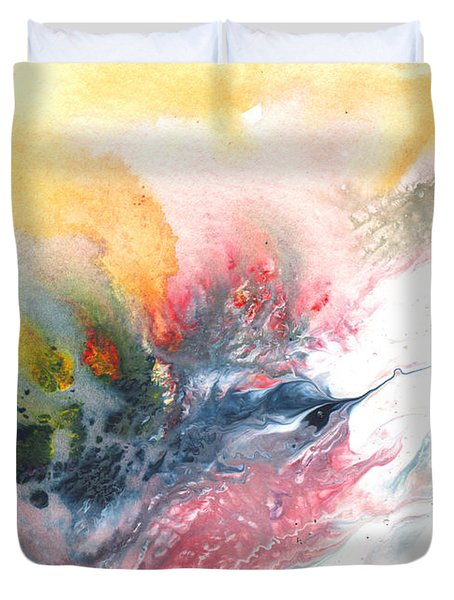 Out Of The Nest Duvet Cover by Miki De Goodaboom