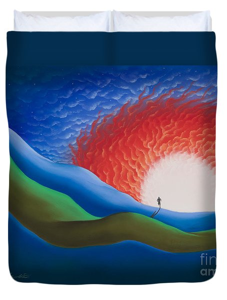 Out Of The Sun Duvet Cover