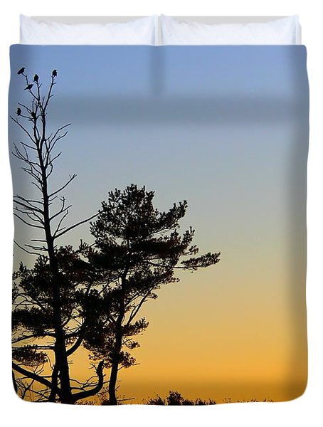 Out On A Limb Duvet Cover by Davandra Cribbie