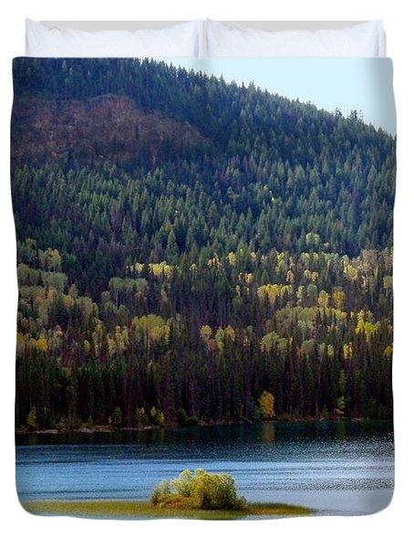 Outlook 18 Duvet Cover by Will Borden