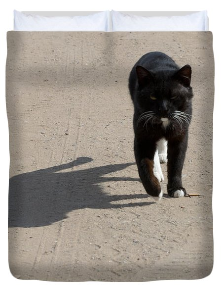 Owner Duvet Cover by Michael Goyberg