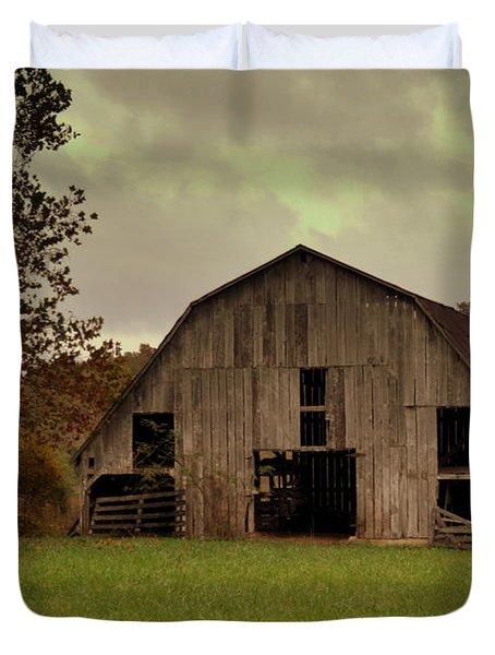 Ozark Barn 5 Duvet Cover by Marty Koch