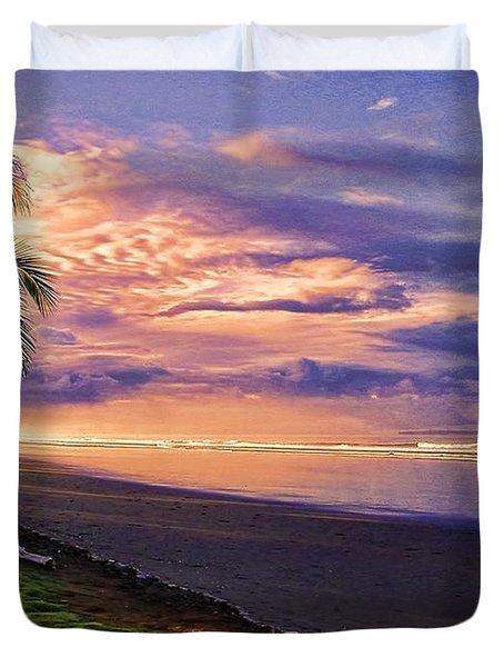 Pacific Sunrise Duvet Cover