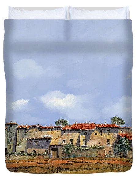 Paesaggio Aperto Duvet Cover