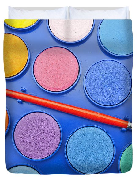 Paintbox Duvet Cover by Joana Kruse