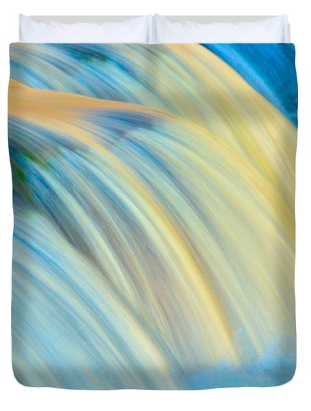 Painted Falls Duvet Cover