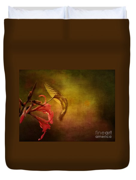 Duvet Cover featuring the photograph Painterly Ballet by Anne Rodkin