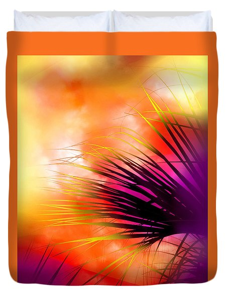 Palmetto Duvet Cover by Judi Bagwell