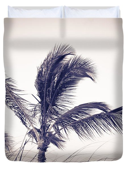 Palms 4 Duvet Cover