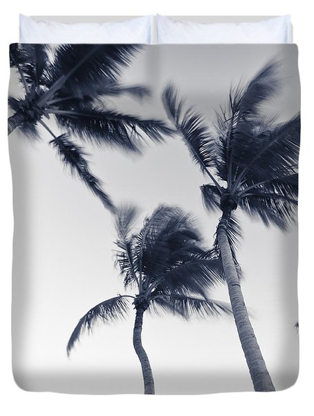 Palms 5 Duvet Cover