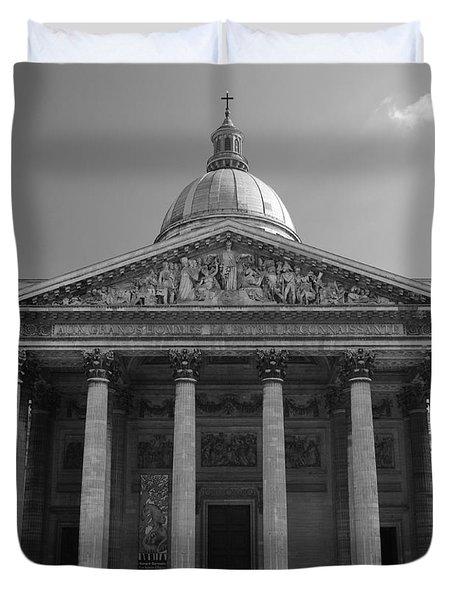 Pantheon Duvet Cover by Sebastian Musial