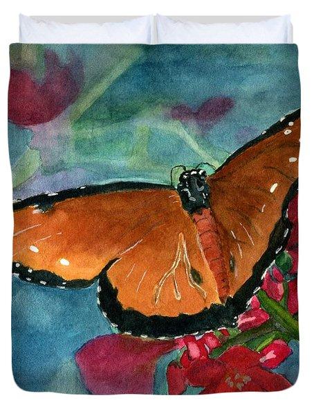 Papilio Fandango  Duvet Cover by Lynne Reichhart