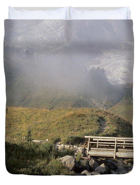 Paradise Valley Duvet Cover by Sharon Elliott