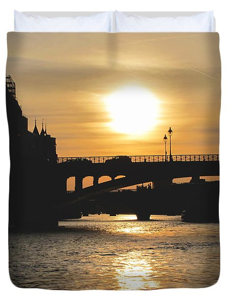 Parisian Sunset Duvet Cover