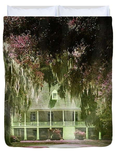 Parlange Plantation Circa 1750 New Roads La Duvet Cover by Lizi Beard-Ward