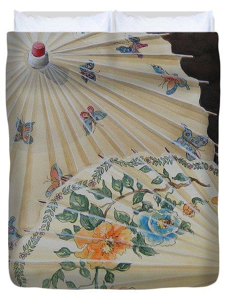 Parosol Parade Sold  Duvet Cover