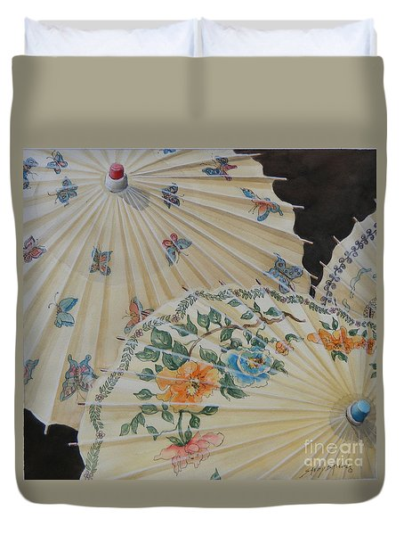 Parosol Parade Sold  Duvet Cover