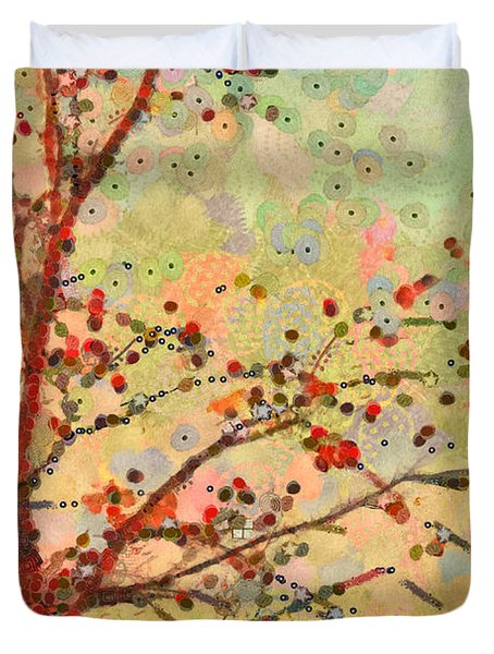 Parsi-parla - D16c02 Duvet Cover by Variance Collections