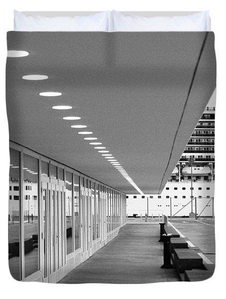 Passenger Terminal Duvet Cover by Gaspar Avila