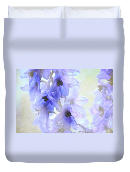 Passion For Flowers. Blue Dreams Duvet Cover by Jenny Rainbow