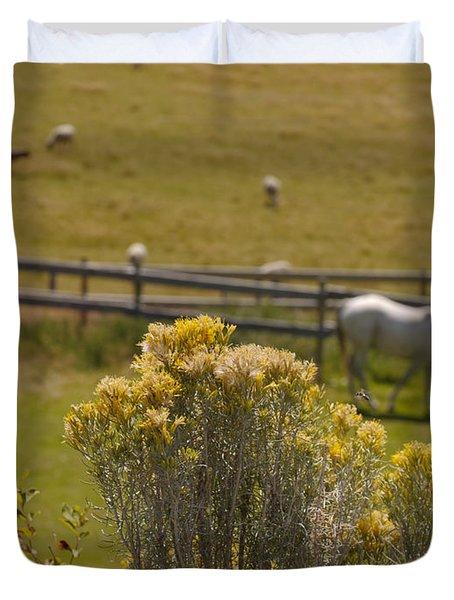 Pastures Duvet Cover