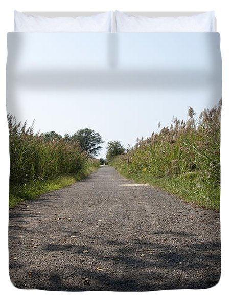 Path To The Bay Duvet Cover