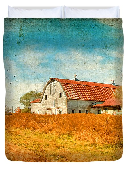Peaceful Day's Duvet Cover by Darren Fisher