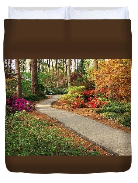 Peaceful Path Duvet Cover