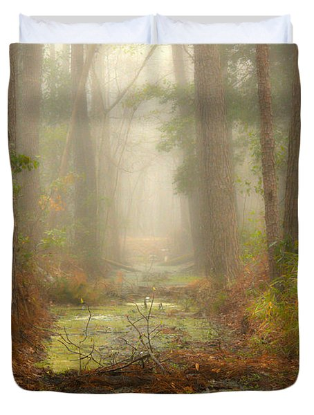 Peaceful Pathway Duvet Cover