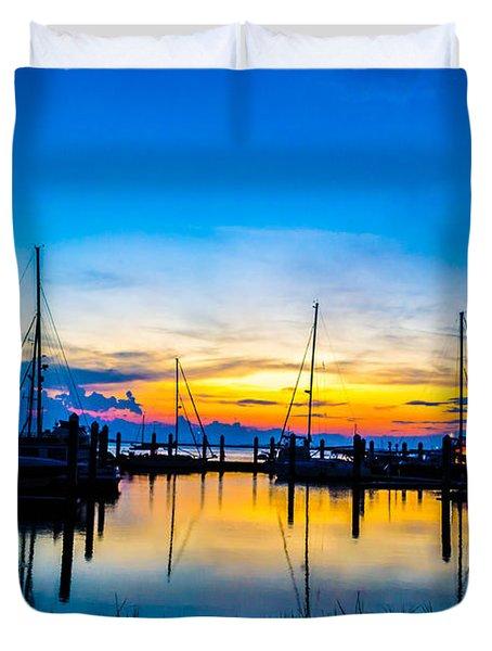 Peacefull Sunset Duvet Cover