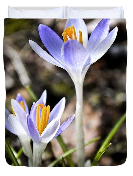 Peaking Spring Duvet Cover