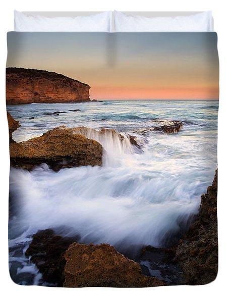 Pennington Pastel Sunset Duvet Cover by Mike  Dawson