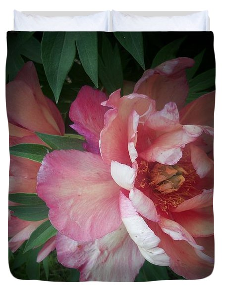 Peonies No. 8 Duvet Cover