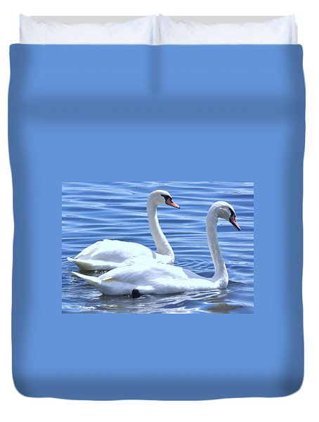 Swan Song Duvet Cover
