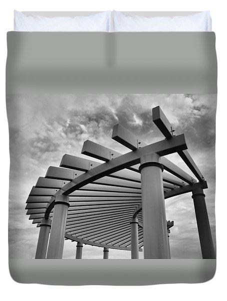 Pergola Duvet Cover by Brian Hughes